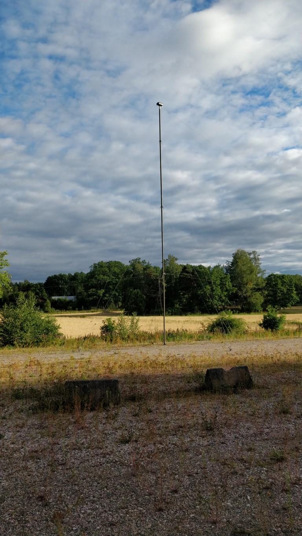 SL5FHT Mast för Delta-antenn