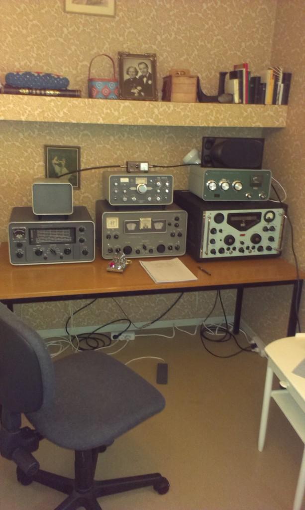 edx kw2000, racal ra117, hammarlund hx50 hq180